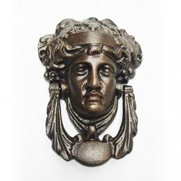 Wunderschöner Türklopfer Medusa Eisen Bronze-Optik Antik-Stil